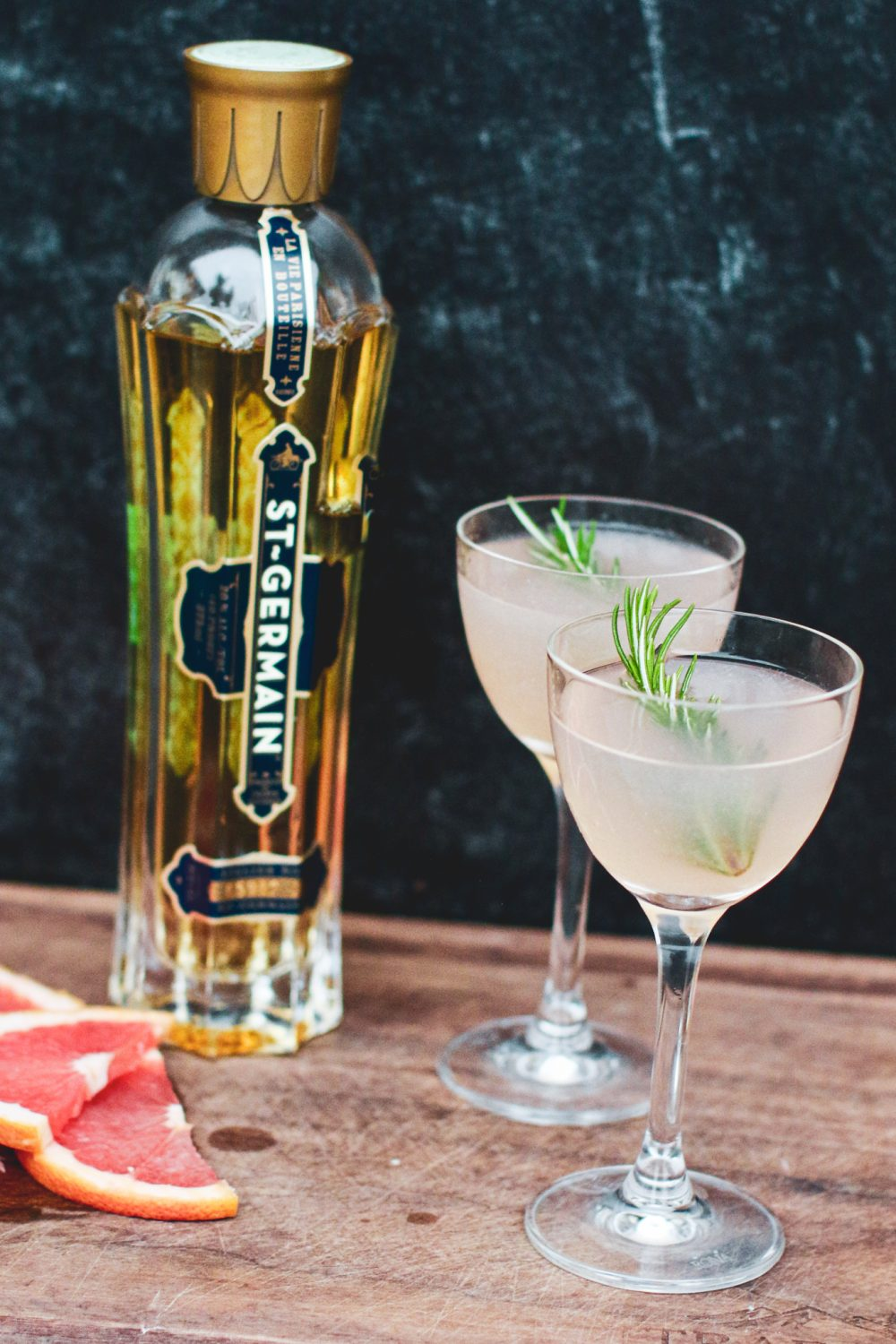 St. Germain Cocktail with Grapefruit