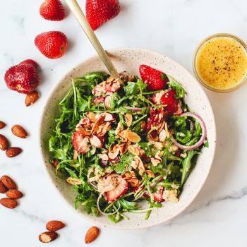 Strawberry-Arugula Salad