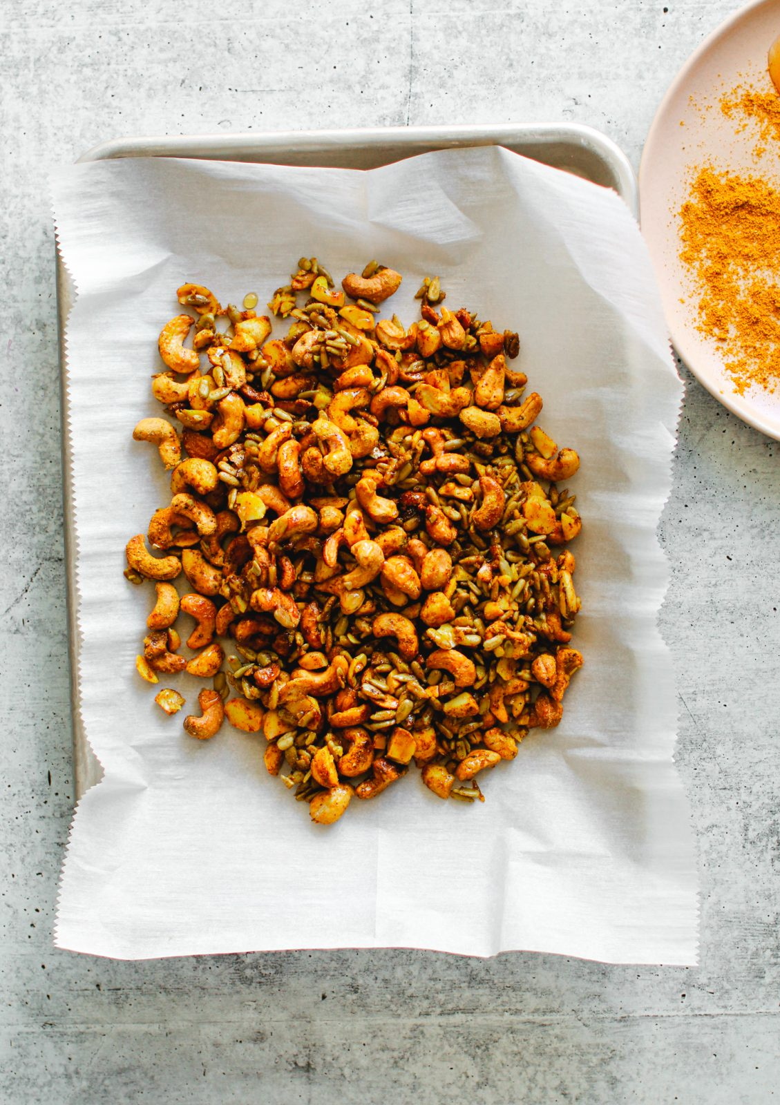 Curry Spiced Nut Mix
